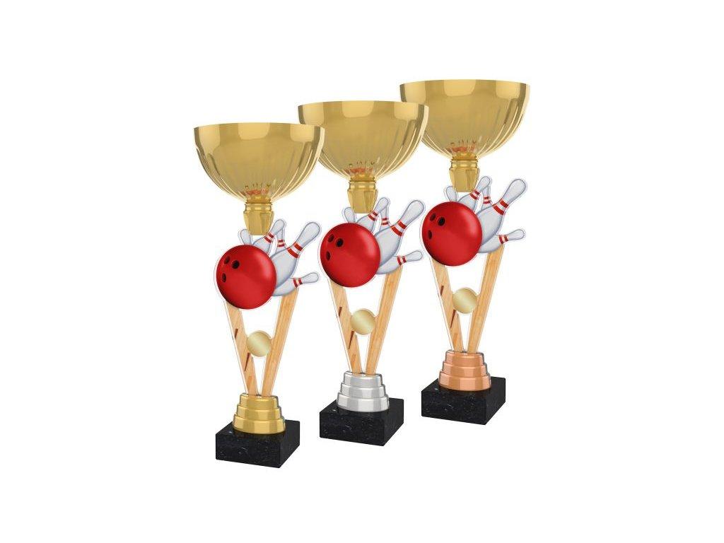 Acrylic trophy ACUPGOLD M06