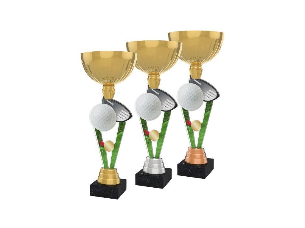 Acrylic trophy ACUPGOLD M07