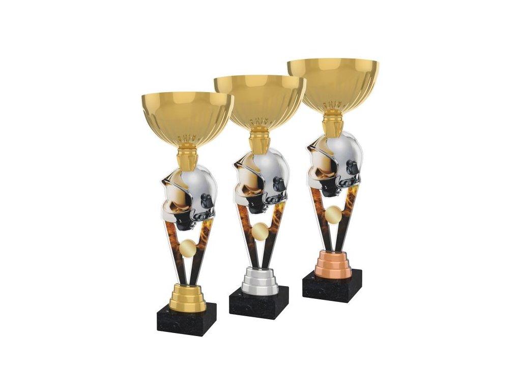 Acrylic trophy ACUPGOLD M08
