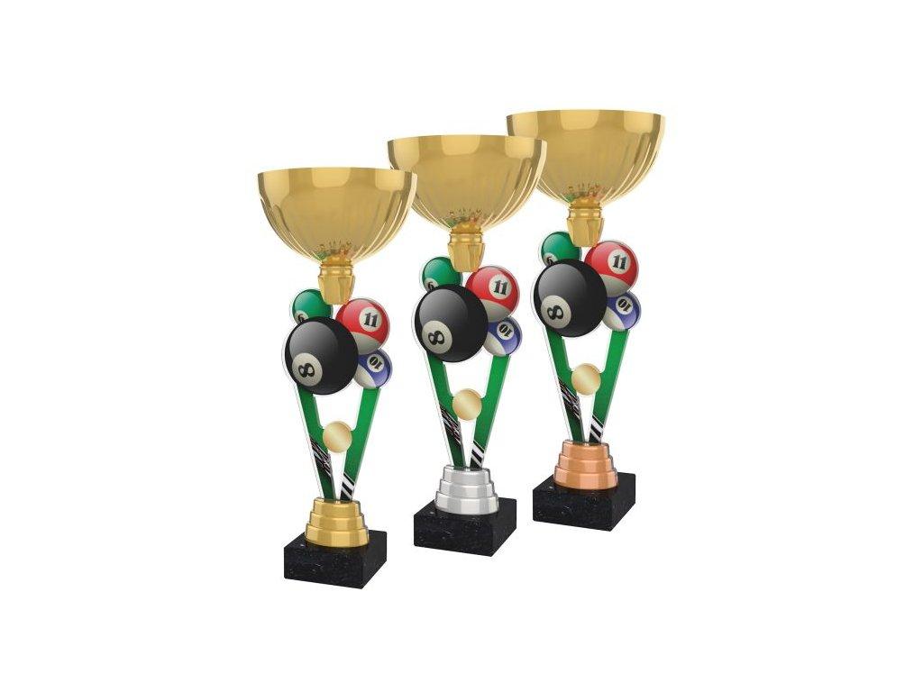 Acrylic trophy ACUPGOLD M09