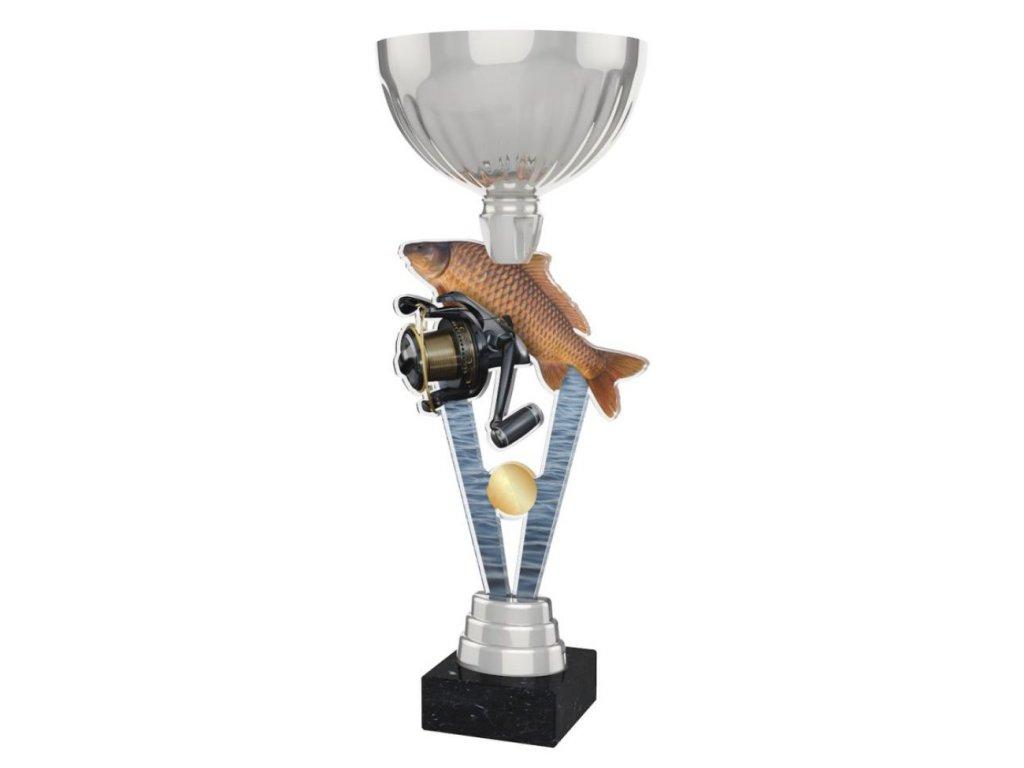 Acrylic trophy ACUPSILVM40