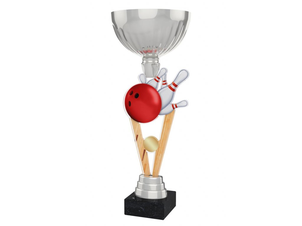Acrylic trophy ACUPSILVM06