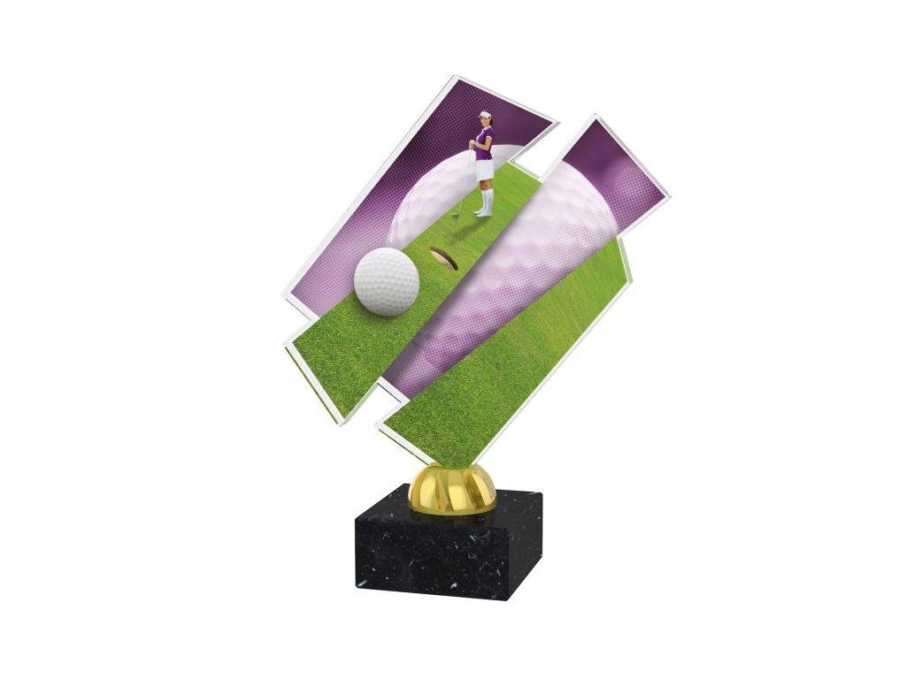 Acrylic trophy ACZM05