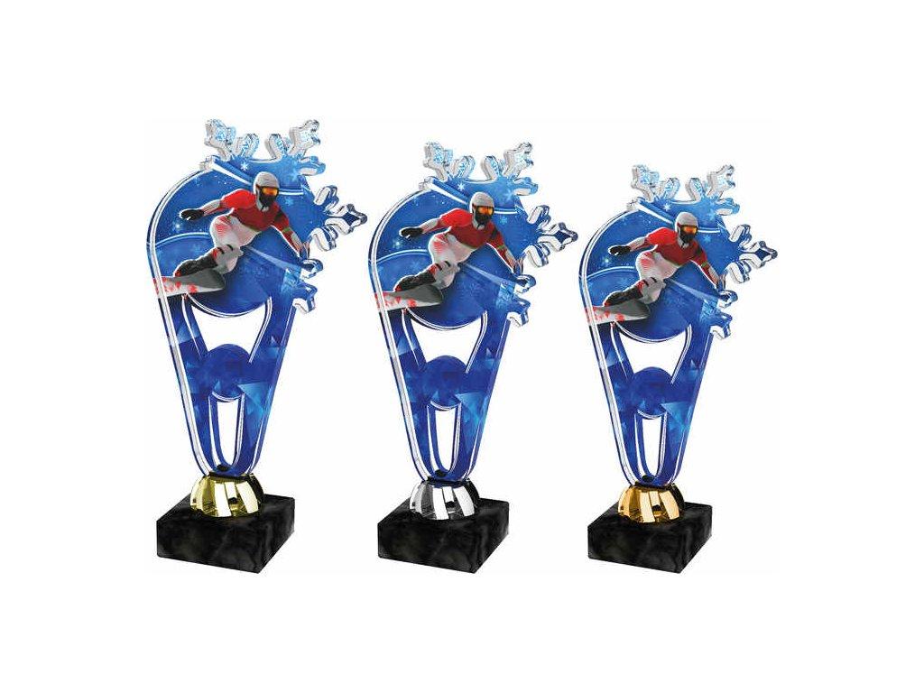 Acrylic trophy PLAS0012