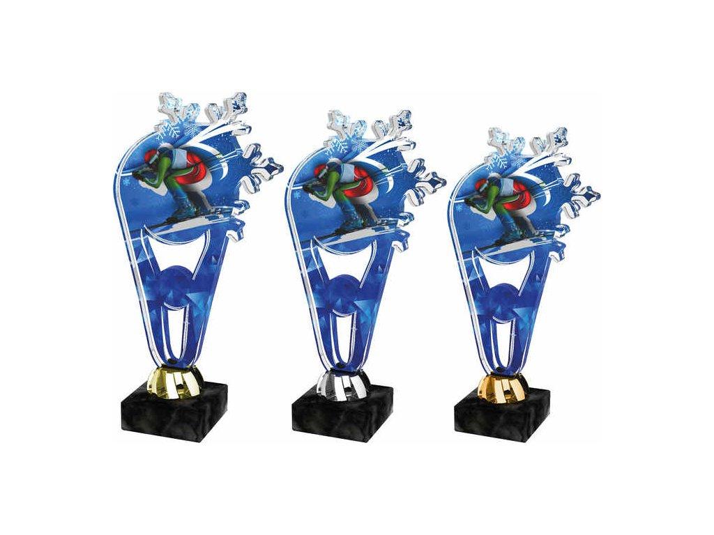 Acrylic trophy PLAS0008