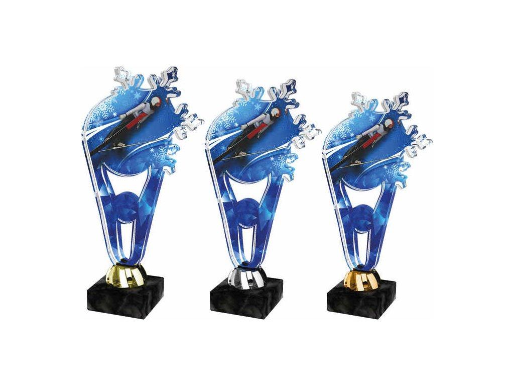 Acrylic trophy PLAS0009