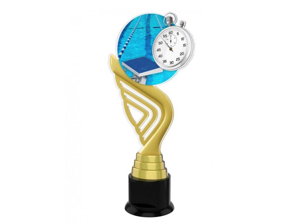 Acrylic  trophy ACTA001M12