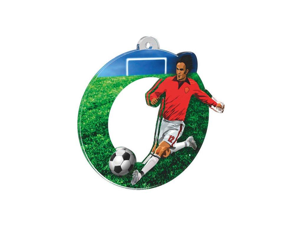 Acrylic medal MDA0010M12