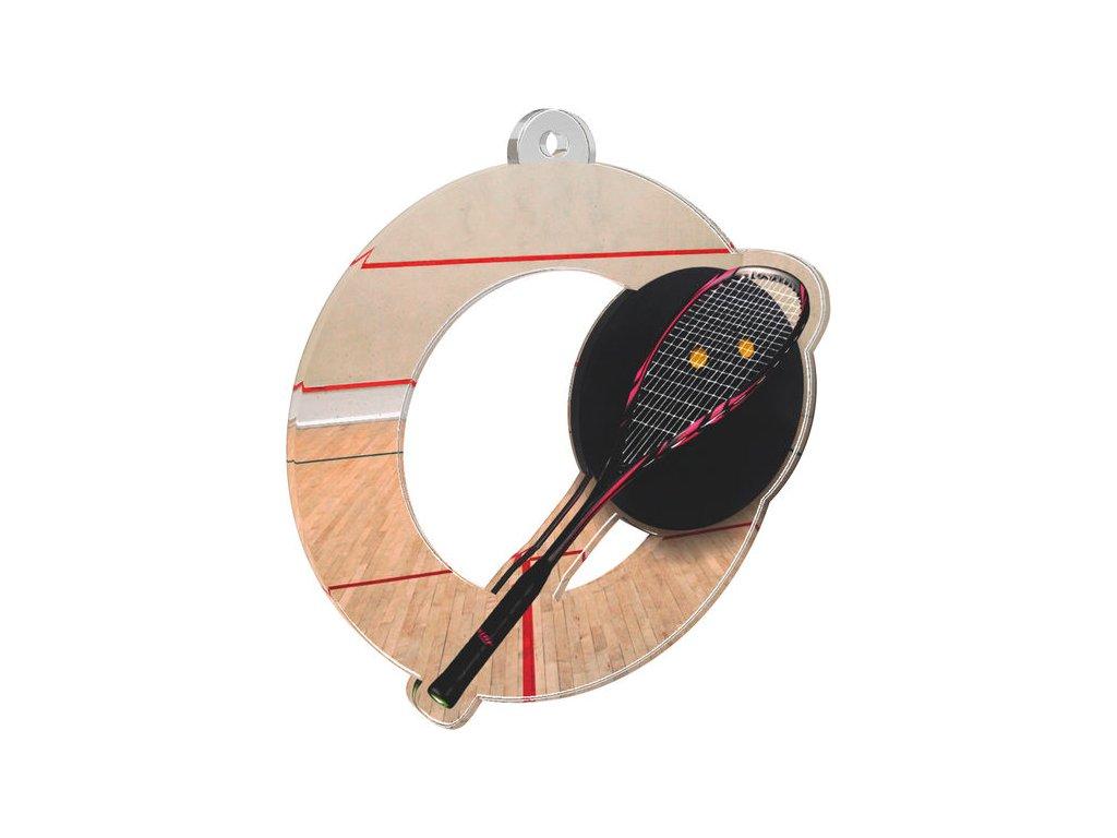 Acrylic medal MDA0010M19