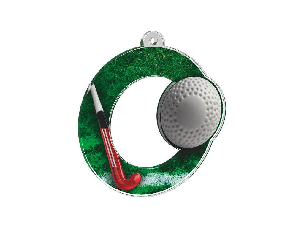 Acrylic medal MDA0010M23