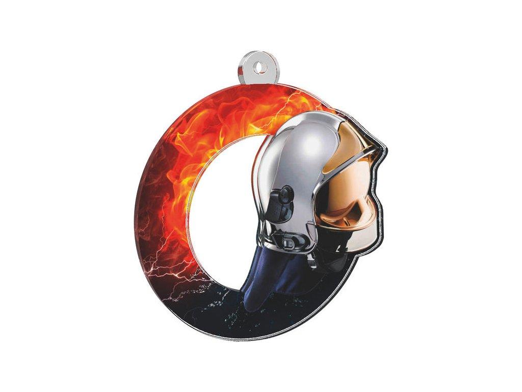 Acrylic medal MDA0010M38