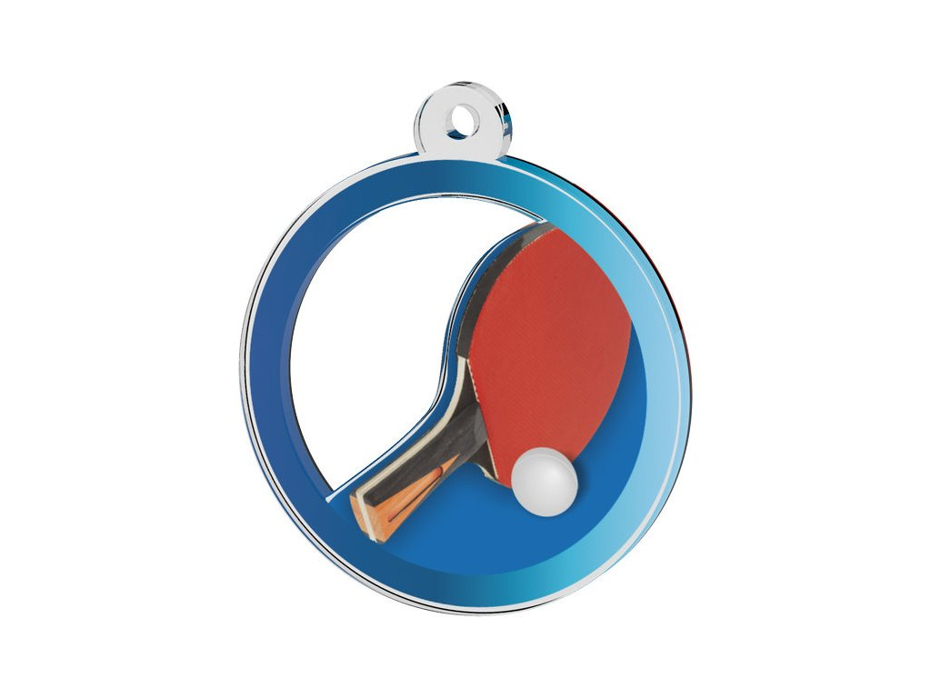Acrylic medal MDA20M50