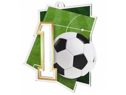Medaile NCUF1 Fotbal A
