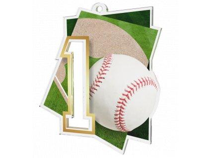 Medaile NCUF1 Baseball A
