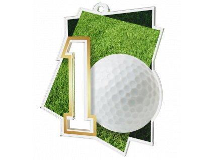 Medaile NCUF1 Golf A