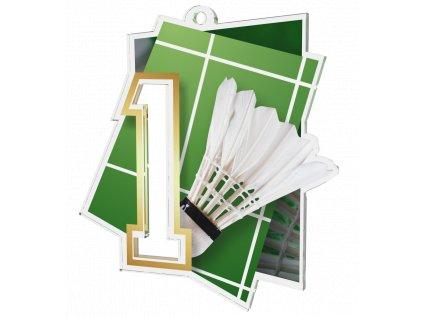 Medaile NCUF1 Badminton A