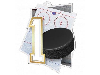 Medaile NCUF1 Hokej A