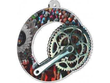 Acrylic medal MDA0010M20
