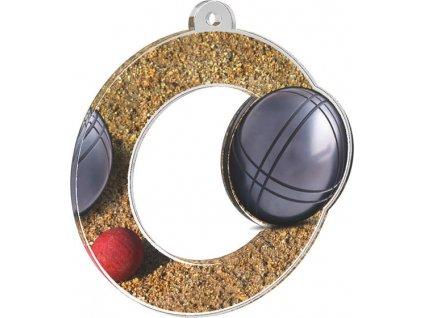 Acrylic medal MDA0010M27