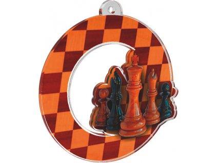 Acrylic medal MDA0010M33