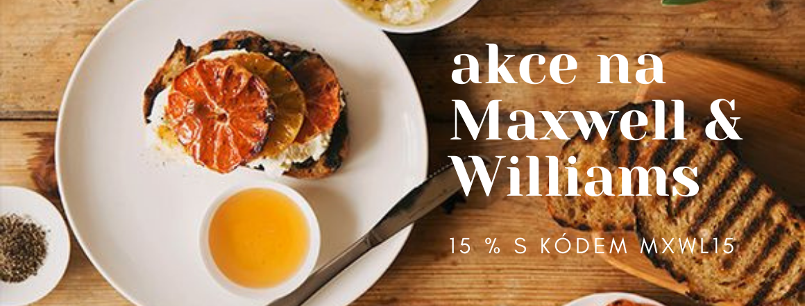 15 % sleva na značku Maxwell & Williams