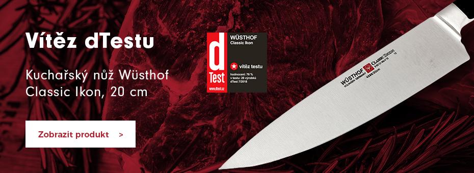 Kuchařský nůž Wüsthof Classic Ikon, 20 cm - vítěz dTestu