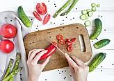 Nože na ovoce, nože na zeleninu a okrajovací nože