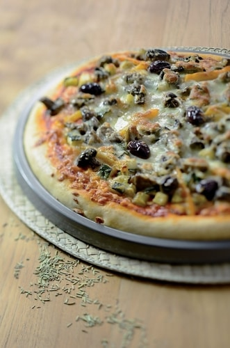 KitchenAid kulatý plech na pizzu