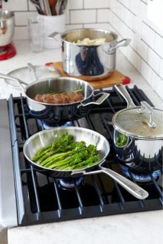 KitchenAid nerezová nepřilnavá pánev