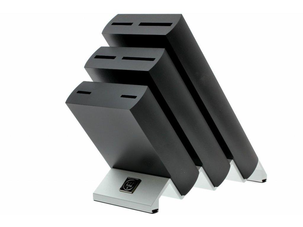 Blok na nože Wüsthof, černý