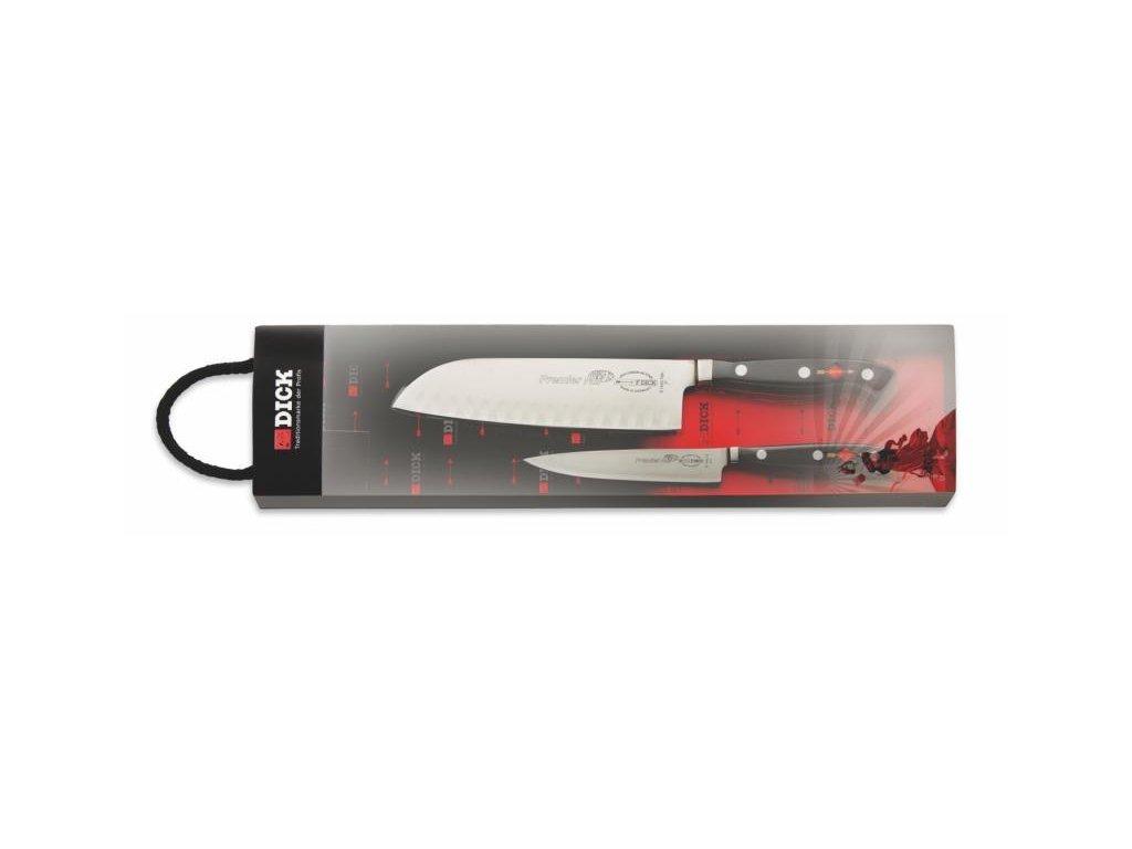 F. Dick Premier Plus Santoku Dárková 2-dílná sada nožů