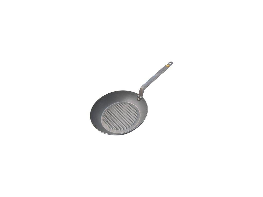 ocelova grilovaci panev mineral b element 32 cm de buyer