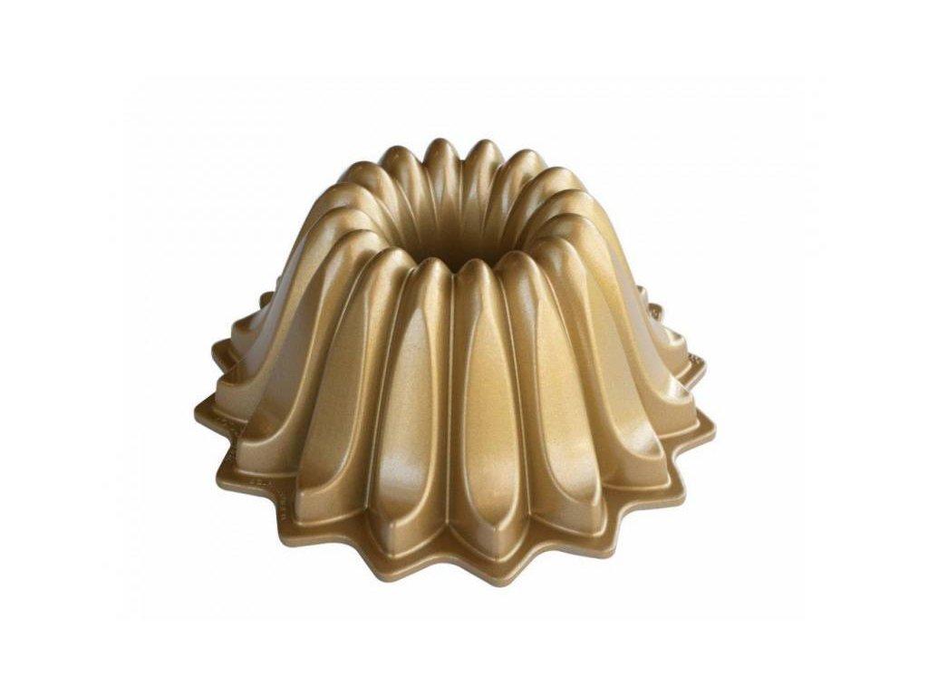 Nordic Ware Bábovka Lotus zlatá