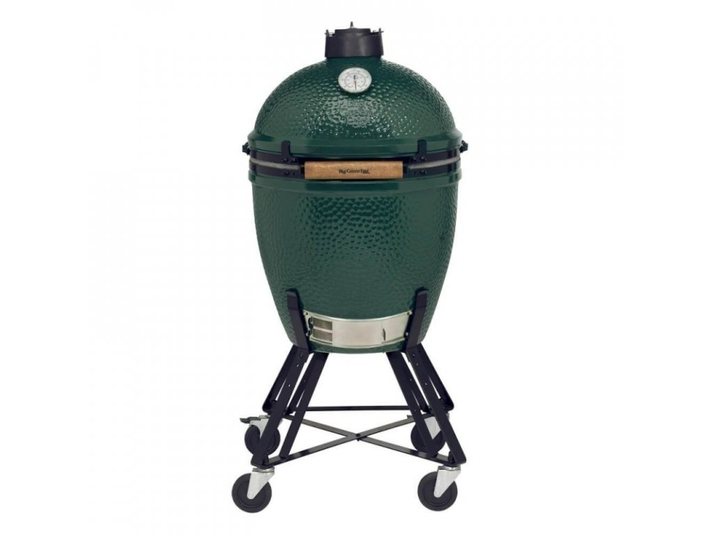 Set Big Green Egg Medium + pojízdný stojan Egg