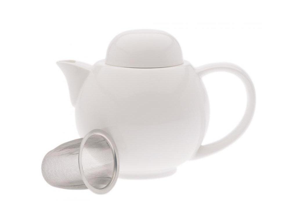 Maxwell&Williams WHITE BASICS čajník 6 šálků & sítko