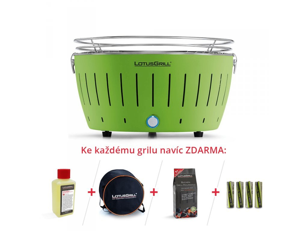LotusGrill XL zelený 1