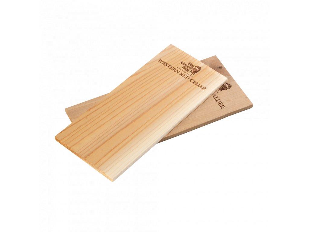 Dřevěná grilovací prkénka 2 ks Cedr