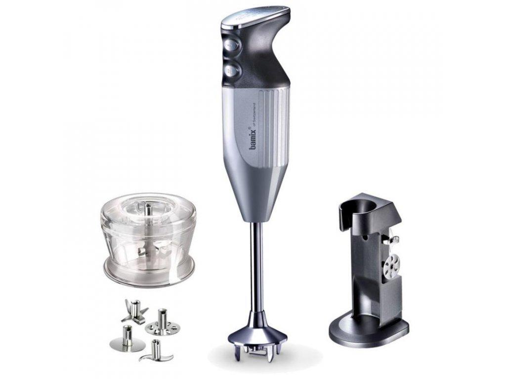 Bamix DeLuxe mixér stříbrný 160 W