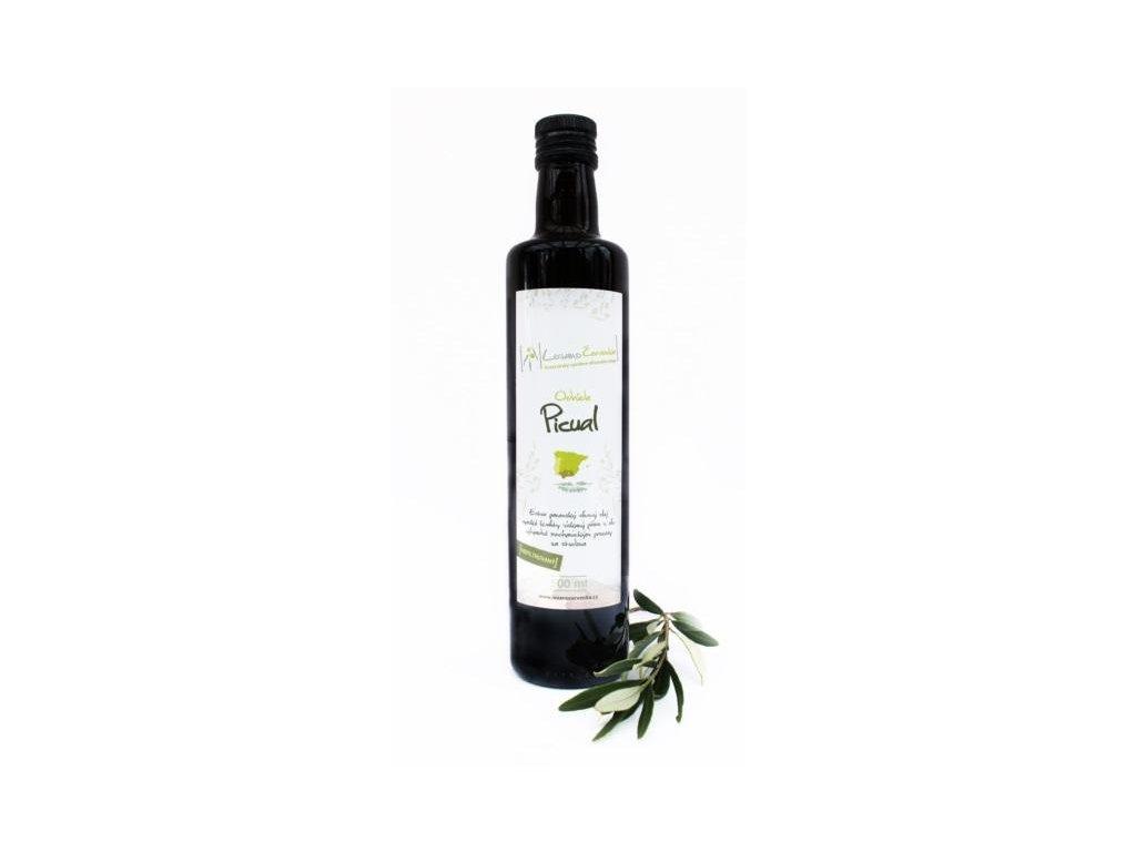 LozanoČervenka Extra panenský olivový olej nefiltrovaný, Picual 500 ml