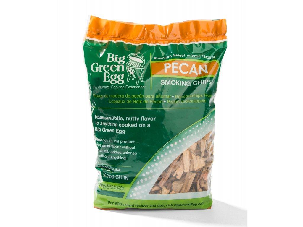 Dřevěné štěpky na uzení pekanový ořech