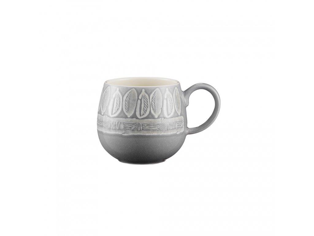 Mason Cash Impression Mugs Leaf hrnek šedý, 350 ml 2001.880 1