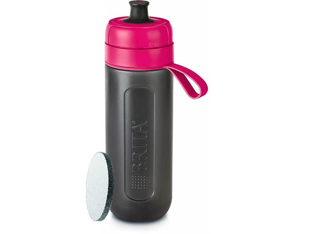 Brita Fill&Go Active filtrační láhev na vodu růžová 1