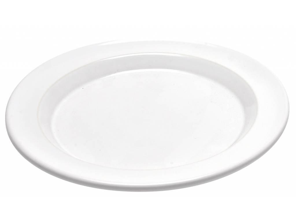 Emile Henry jídelní talíř nugátový 28 cm