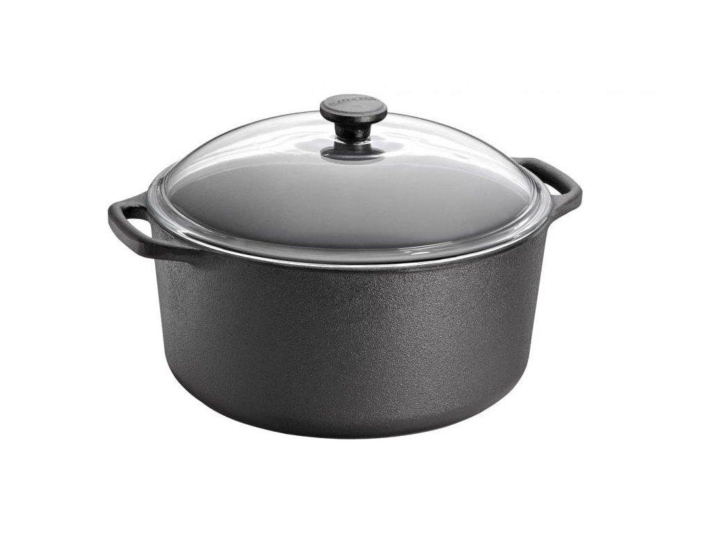 Skeppshult litinový hrnec na vaření s poklicí 0710