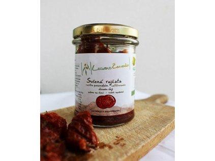 LozanoČervenka Sušená rajčata v extra panenském nefiltrovaném olivovém oleji, 190 g