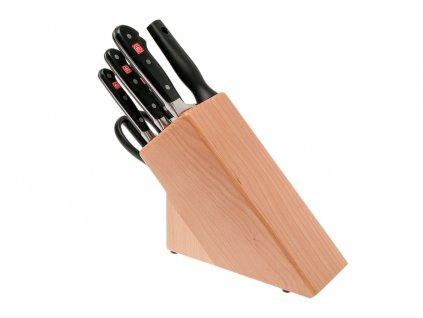 Blok s noži Wüsthof CLASSIC 7 dílů, Světlý