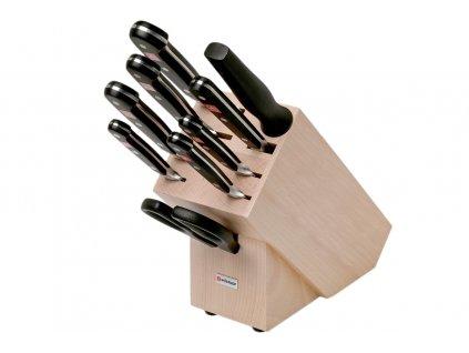 Blok s noži Wüsthof CLASSIC 9 dílů, Světlý