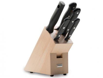 Blok s noži Wüsthof GOURMET 5 dílů, Světlý