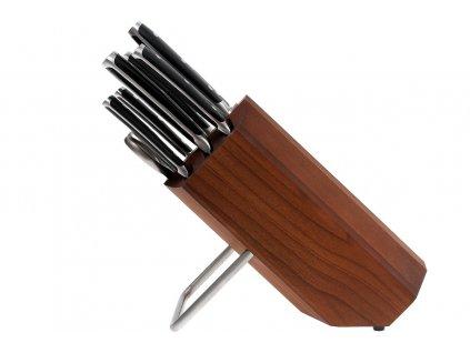 Blok s noži Wüsthof CLASSIC IKON, 8 dílů