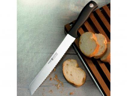 Nůž na chleba 20 cm zubaté ostří, Wüsthof Silverpoint